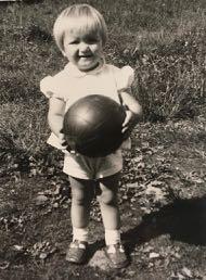 Vaula Norrena 2-vuotiaana